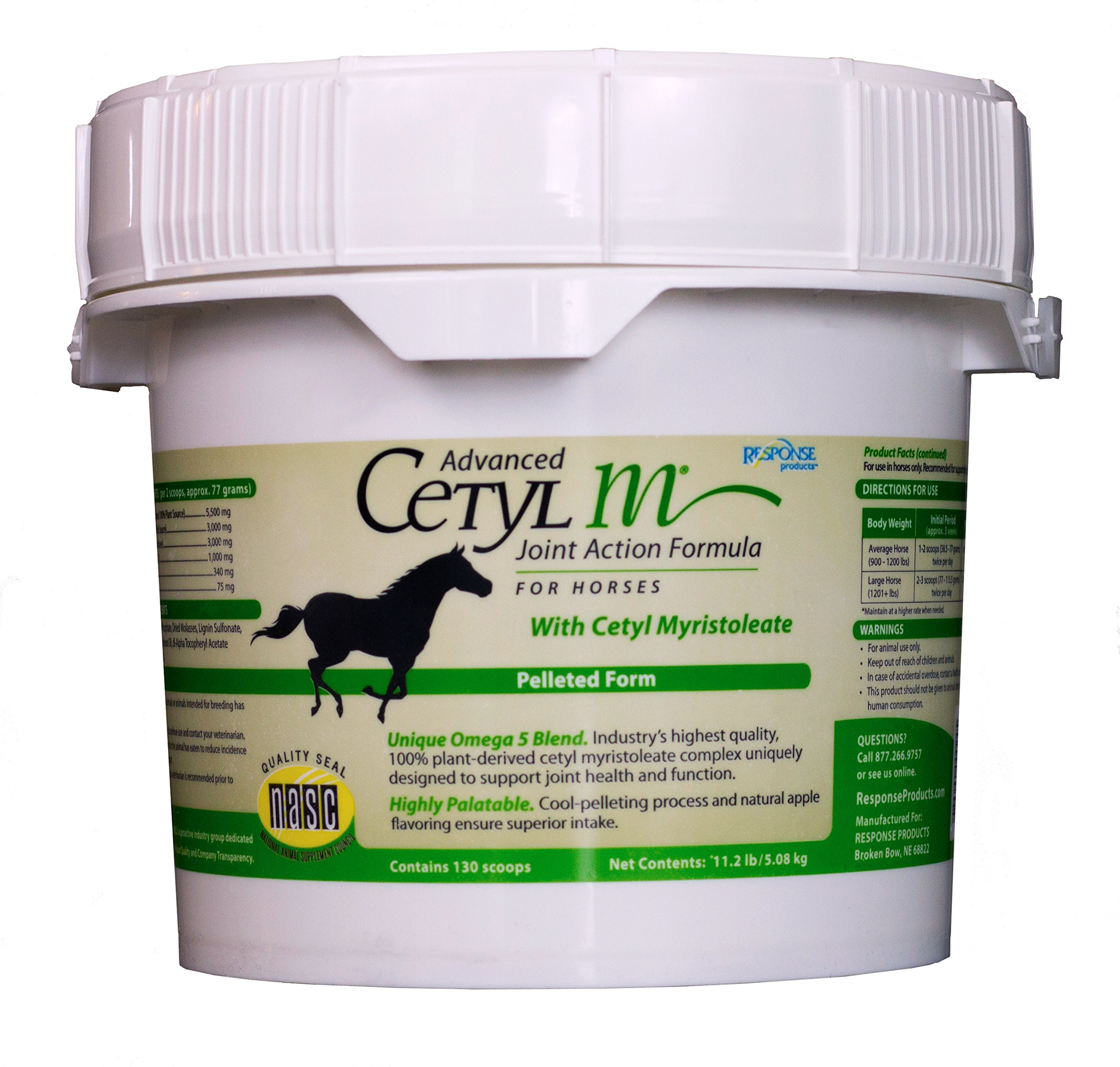 Cetyl M Advanced Joint Action Formula for Horses-Pellets 11.2 by Cetyl M (Image #1)