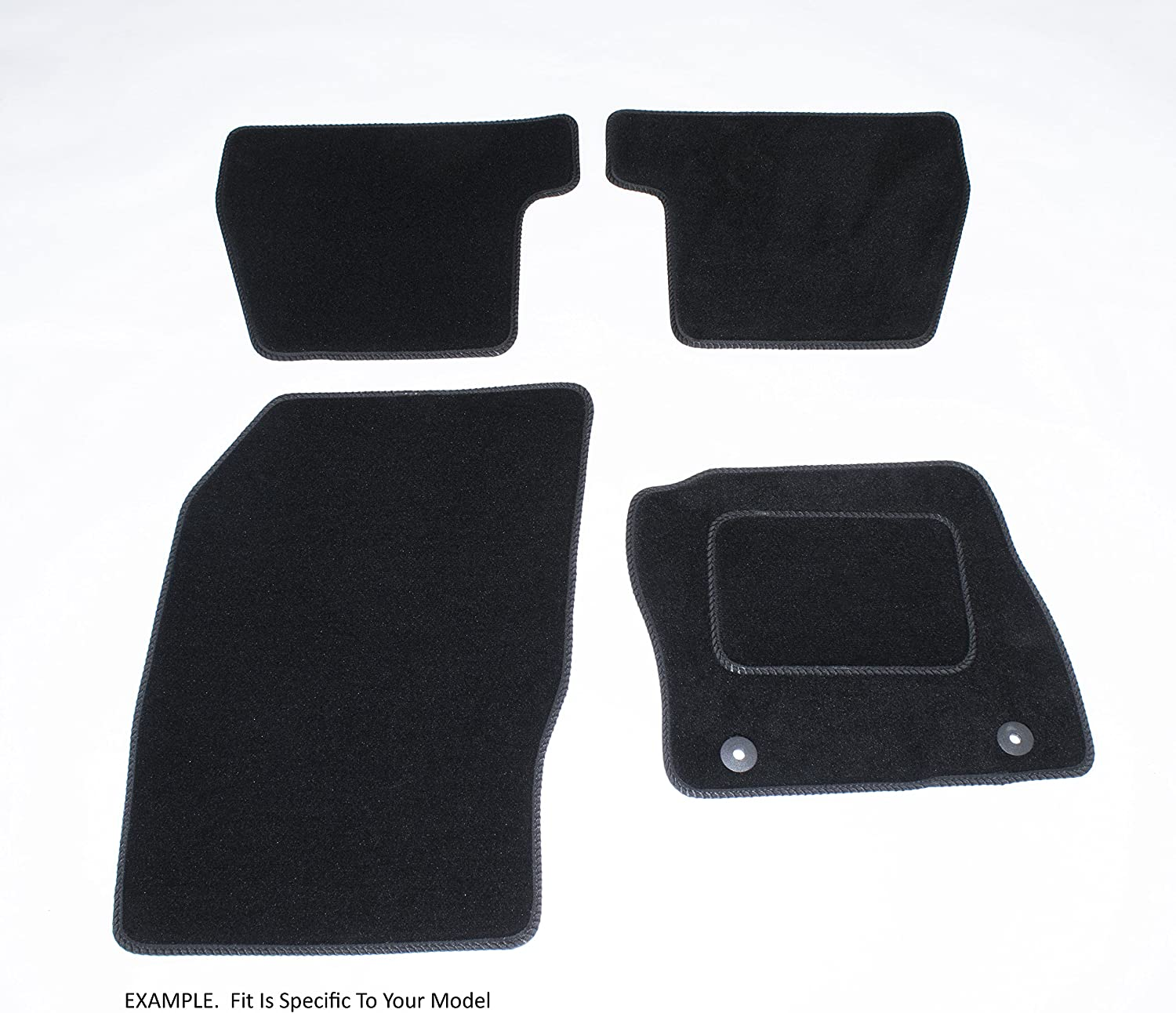 Connected Essentials CEM500 Citroen Xsara 1997-2006 Deluxe Black with Black Trim Car Mat Set