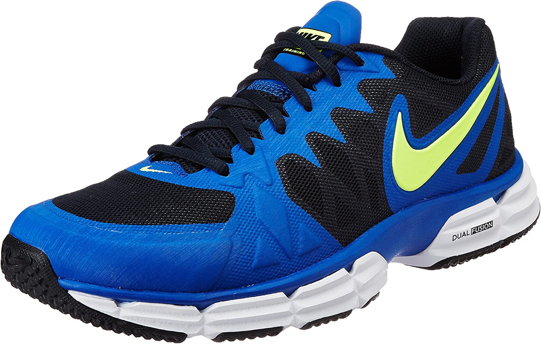Nike Dual Fusion TR 6, Zapatillas de Gimnasia para Hombre, Azul (Azul Marino (Dark Obsidian/Vlt-Gm Ryl-White), 38.5 EU: Amazon.es: Zapatos y complementos