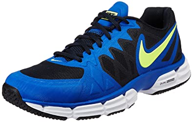NIKE Men's Dual Fusion TR 6 GM Ryl/White/Drk Obsdn/Pht BL