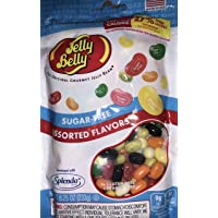 Jelly Belly Sugar-Free Assorted Flavor Jelly Beans, 8.25 Oz. Each (3 Pack) { Specialty Import}