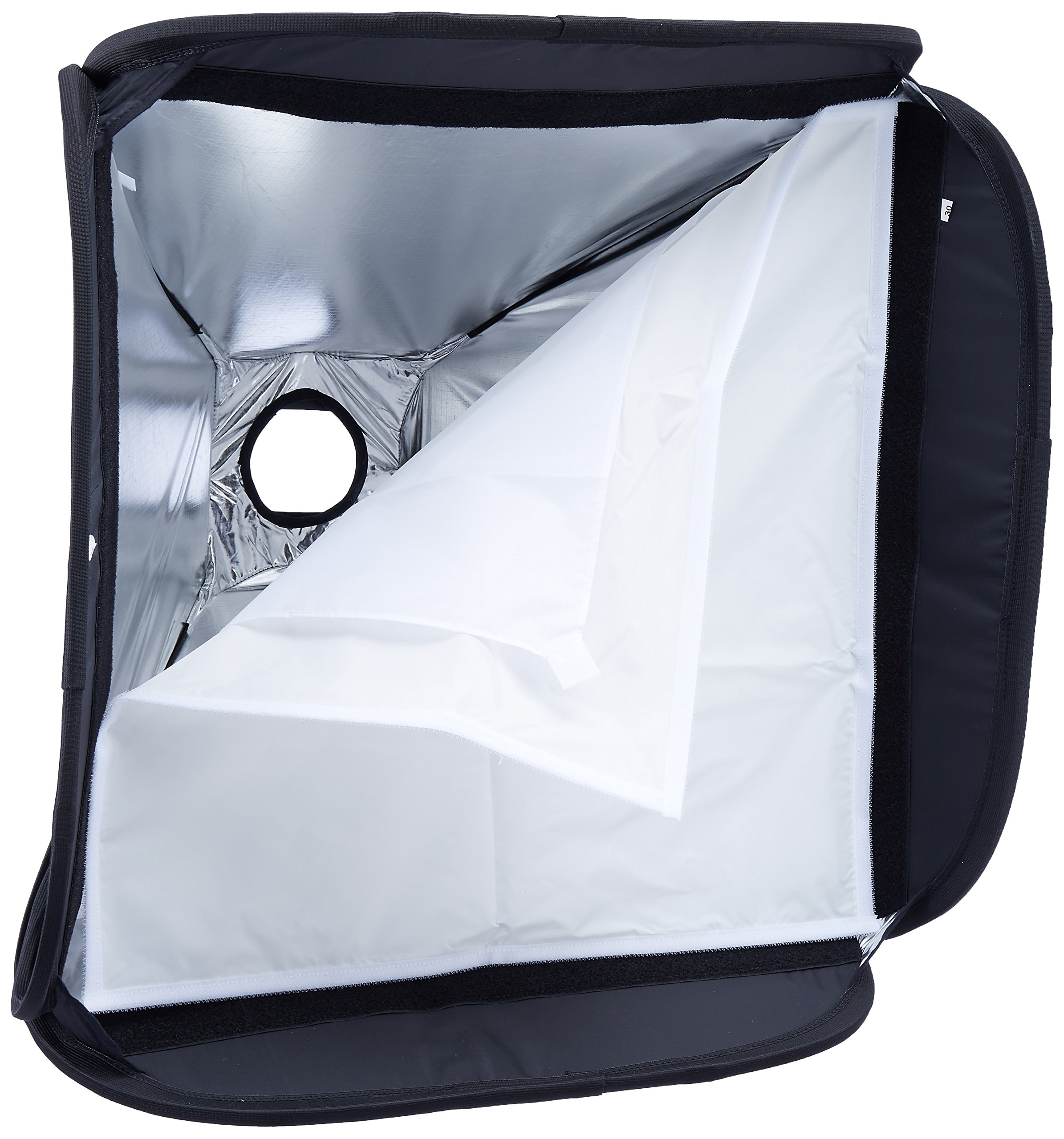 LastoLite LL LS2462 24x24 Inches Ezybox Hot Shoe Kit with Bracket (Black) by Lastolite