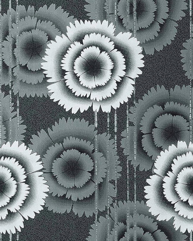 Amazon Com Wallpaper Wall Floral Retro 70s Style Flowers Edem 056