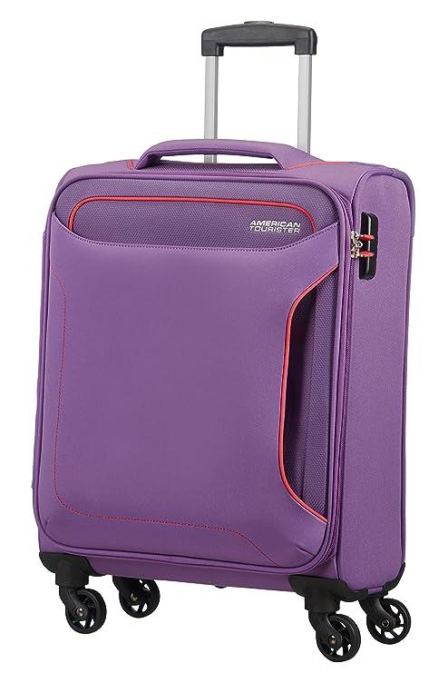 American Tourister Holiday Heat Spinner 55/20, 38 L - 2.6 KG Equipaje de Mano, 55 cm, Liters, Morado (Lavender Purple)
