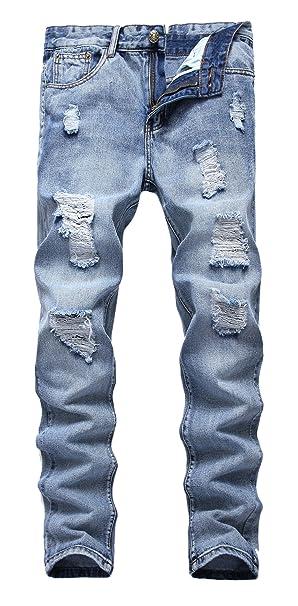 Amazon.com: Pantalones para hombres, entalle ajustado ...