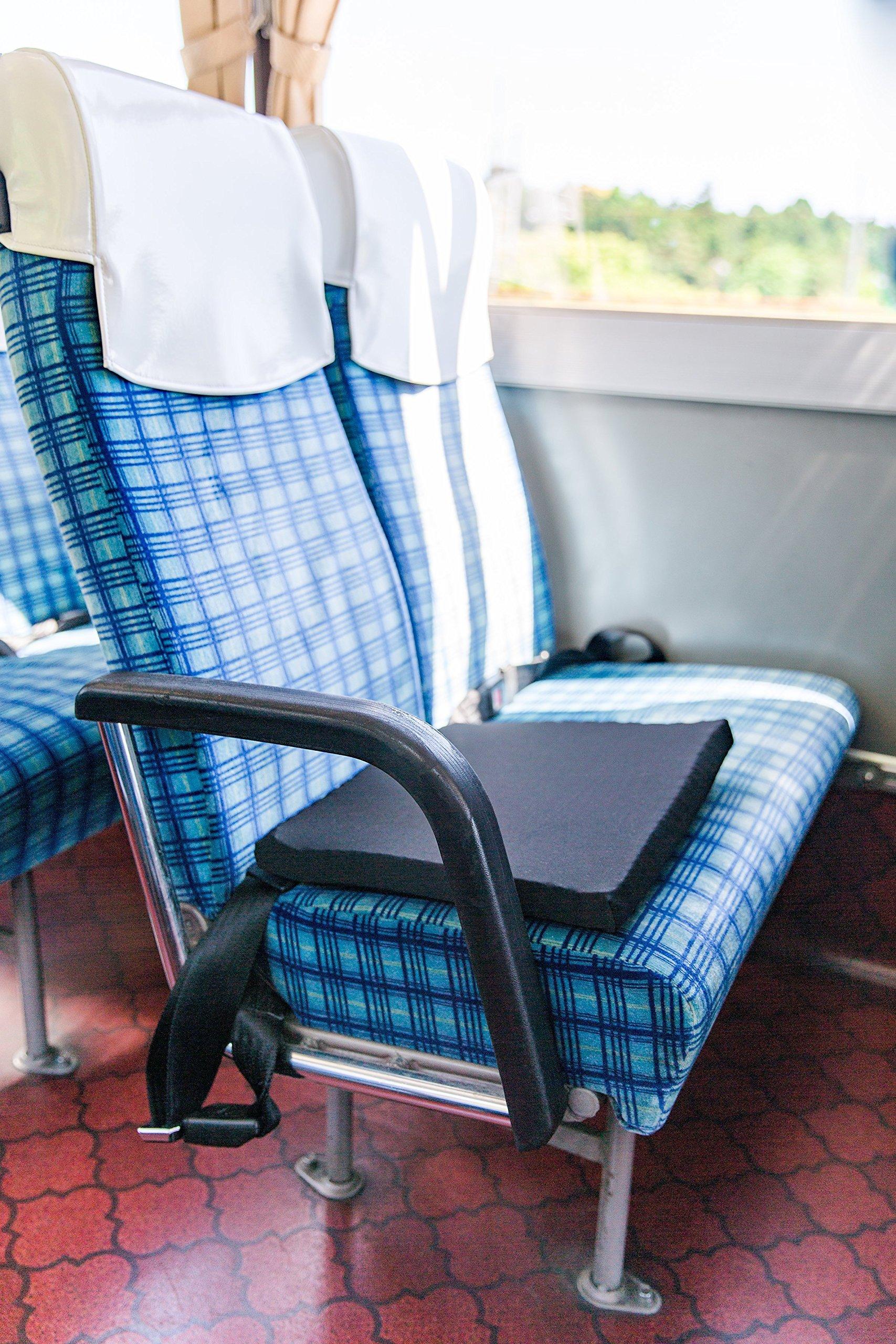 Traveler Gel Seat Cushion - Car, airplane, train, bus and Travel Cushion by Miracle Cushion (Image #8)