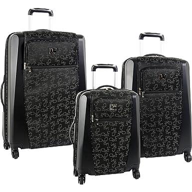 Amazon.com   Diane Von Furstenberg Luggage Signature Hybrid 3 ...