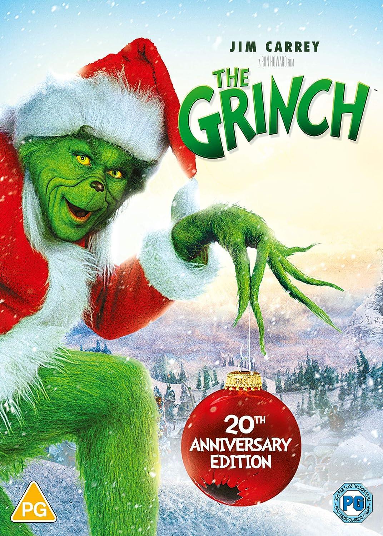 How The Grinch Stole Christmas Dvd 2000 Amazon Co Uk Jim Carrey Taylor Momsen Jeffrey Tambor Christine Baranski Ron Howard Jim Carrey Jeffrey Tambor Taylor Momsen Brian Grazer Dvd Blu Ray