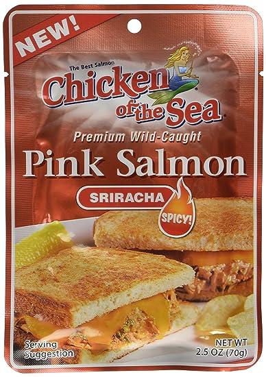 Amazon Chicken Of The Sea Sriracha Salmon 25 Ounce Pouch