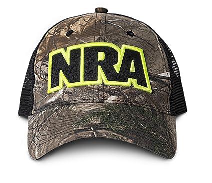 f928f35618a Amazon.com  NRA-Camo Black Hat  Sports   Outdoors