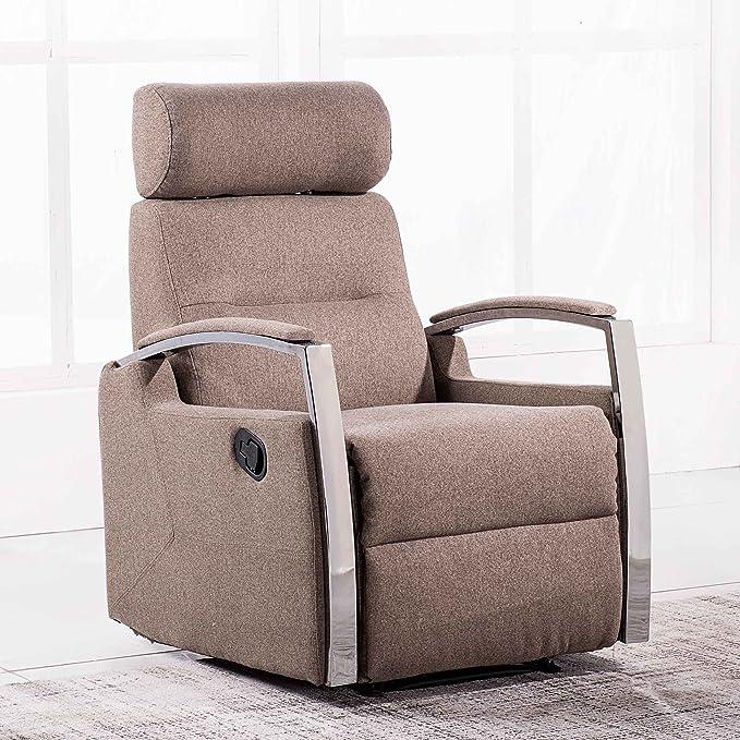 Adec - Sillón relax reclinable modelo DUCAL tejido Elegance ...
