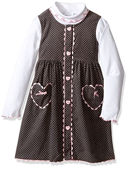1fe5cb007 Amazon.com  Blueberi Boulevard Girls  Toddler Girls  2pc Heart Print ...