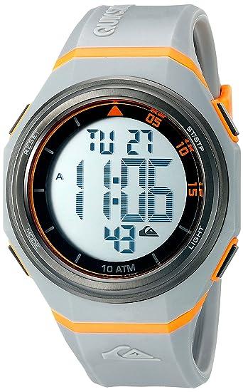 La Breaker Quiksilver para Hombre Reloj Infantil con Mecanismo de Digital Pantalla Digital Coronado Controls y Gris Correa de Silicona QS/1019gyor: ...