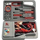 Kit de emergência para veículos com 32 peças, Eda, 9NU, Cinza