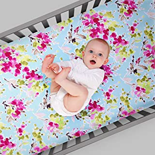 product image for Glenna Jean Cherry Blossom Fitted Sheet (Floral)