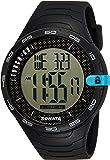 Sonata Digital Black Dial Men's Watch (77041PP03)