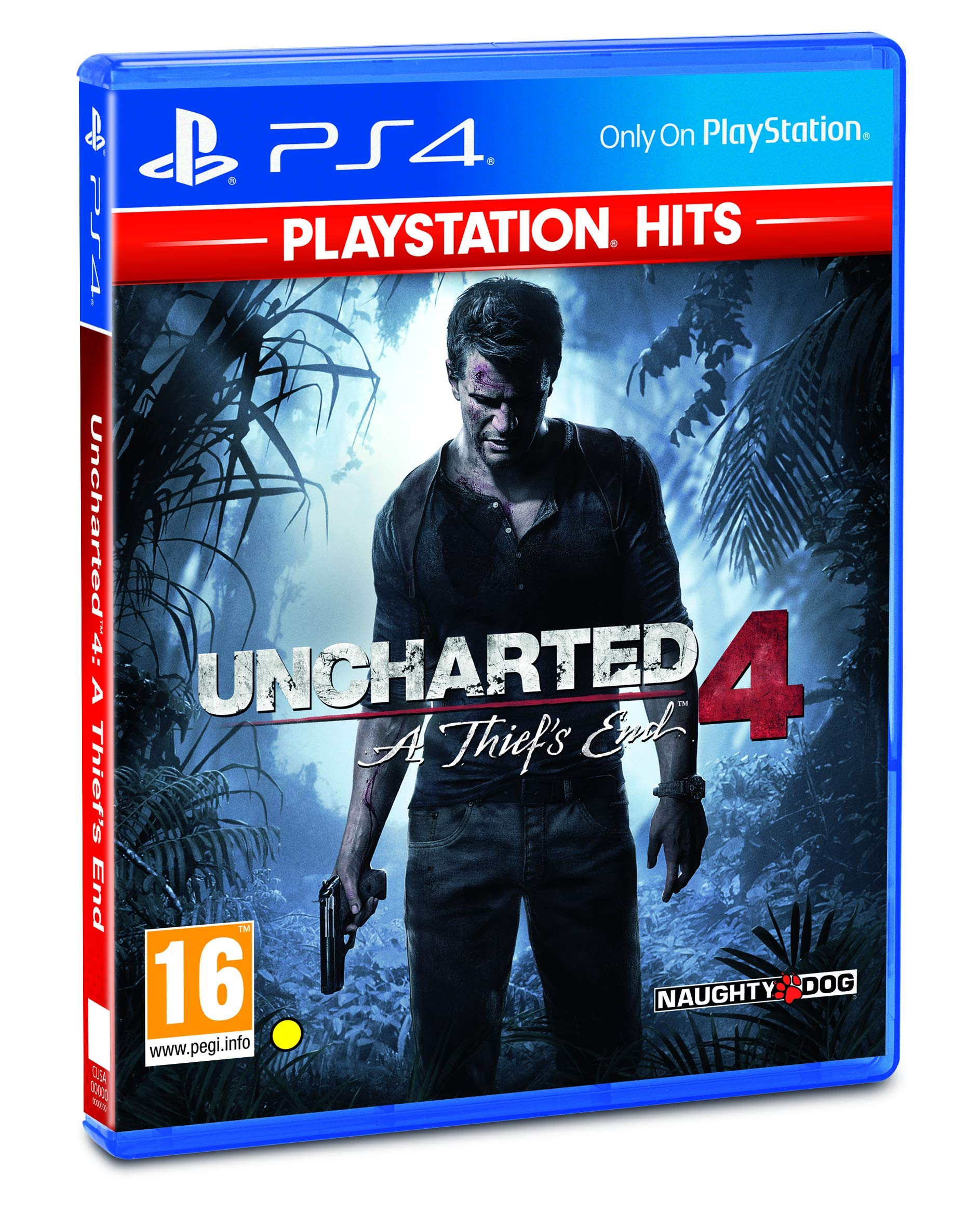 Uncharted 4: A Thief's End  Playstation Hits (PS4) - Newer Version product image