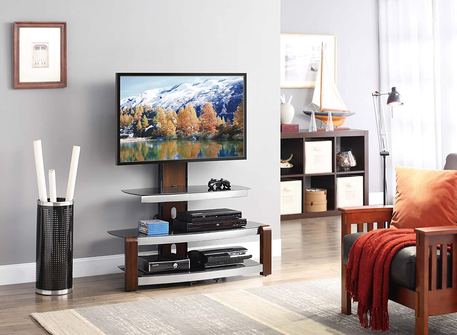The 5 Best TV Stands In 2018: Reviews & Buying Guide 4