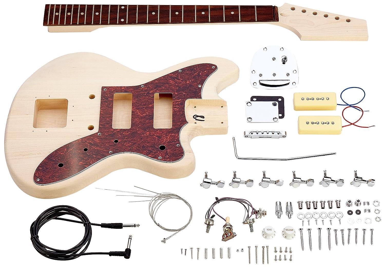 Rocktile DIY JAG Bausatz E-Gitarre (Do-it-yourself E-Gitarre Bausatz ...