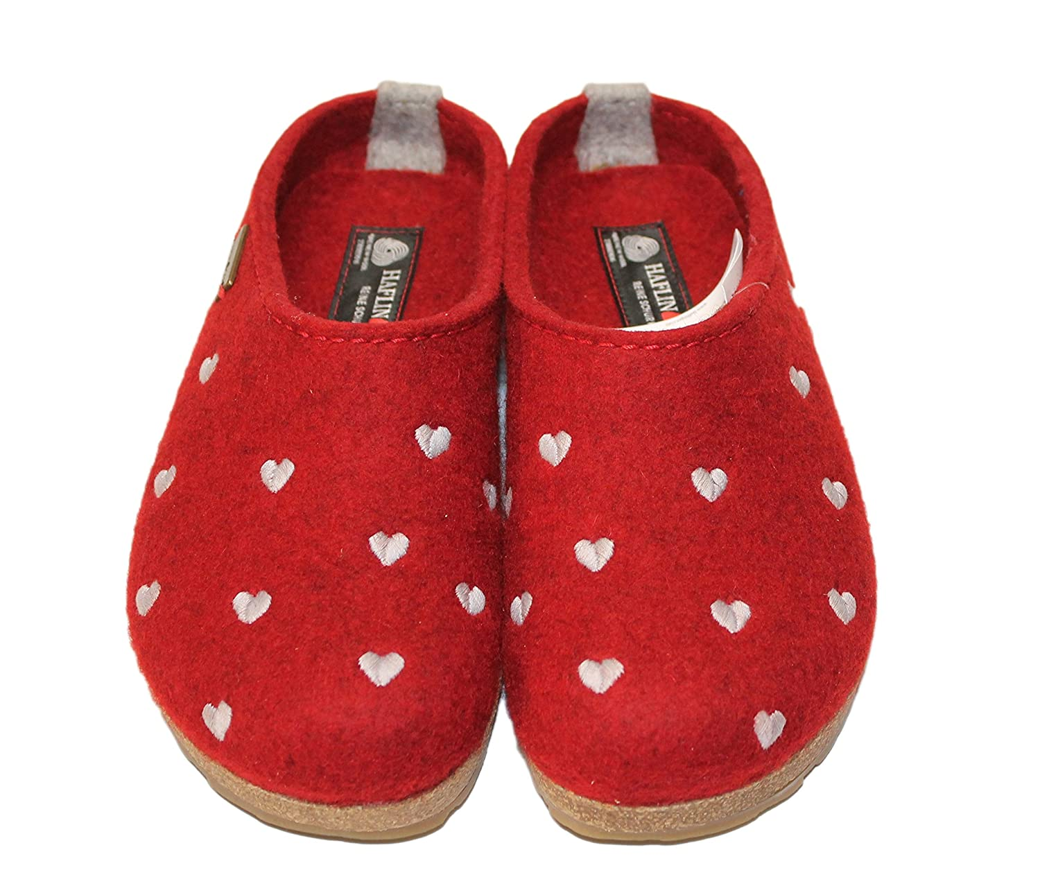 Haflinger Couriccini Femme Grizzly, 19221 Chaussons Couriccini Mules Femme Rouge 6791b83 - epictionpvp.space
