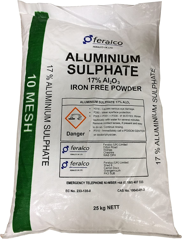 25 kg de sulfato de aluminio al2 (S04) 3 hierro libre – mordiente ...