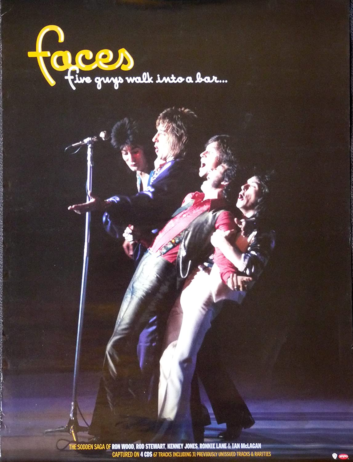 Rod Stewert The Faces Great New POSTER Walk