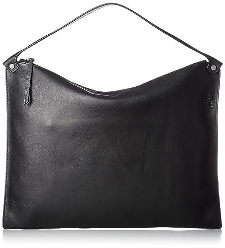 6e638f1c049 ECCO Women's Sculptured Bag Shoulder Handbag, Black, 2x33x45 cm (Wxhxd)