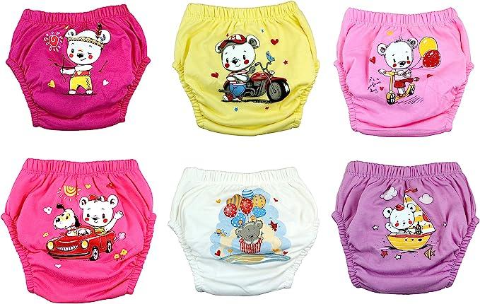 OZYOL Unterwassertiere 6er Pack Wasserdicht Baby Lernwindel Trainerhosen Unterw/äsche Windeln Windelhose zum Toilettentraining T/öpfchentraining