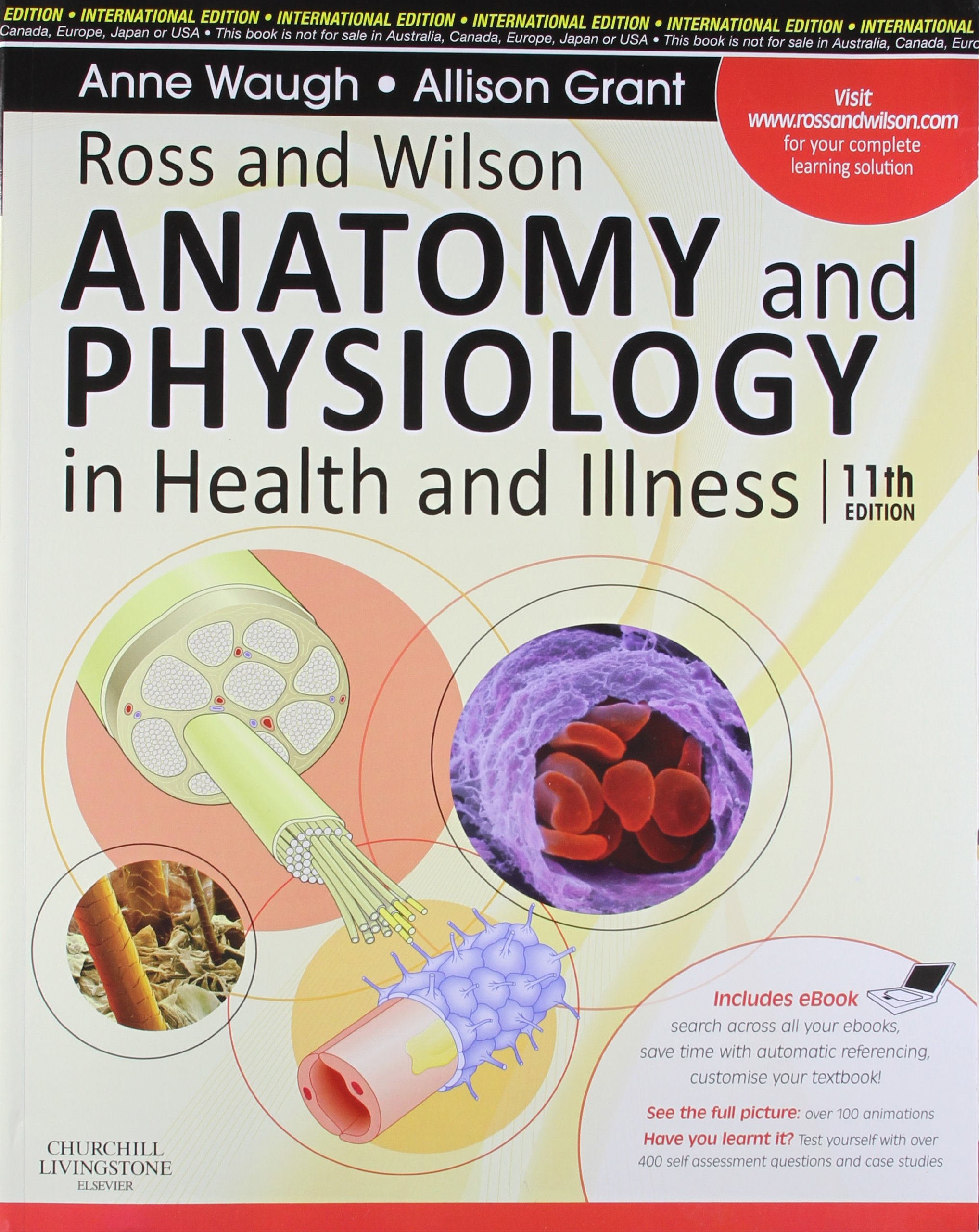 Buy Ross And Wilson Anatomy And Physiology In Health And Illness