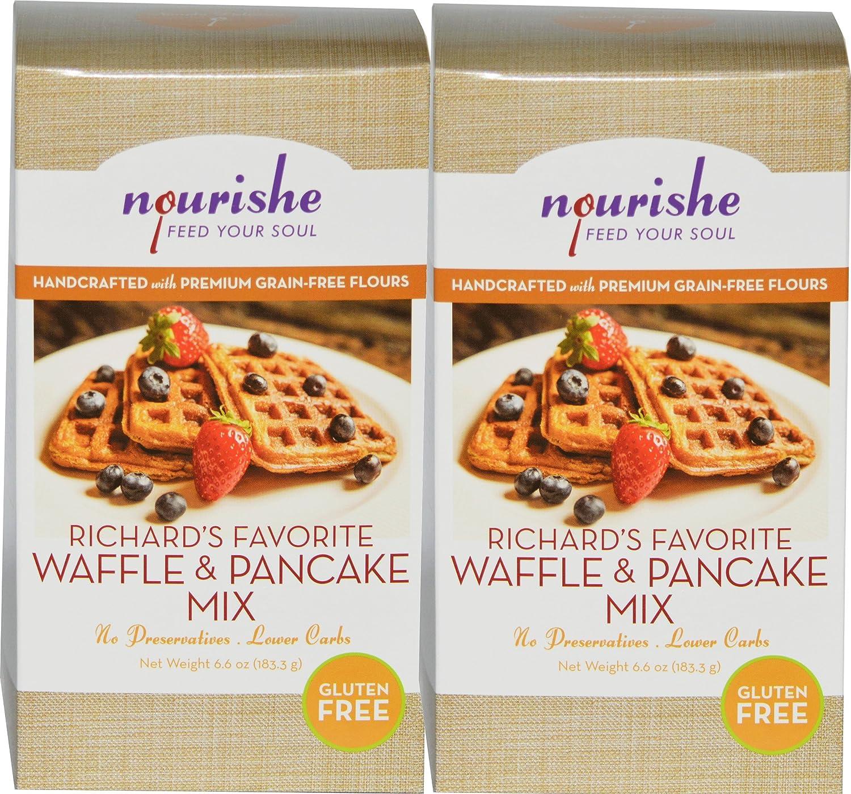 nourishe sin gluten Cereales gratuito Richard de Waffle ...