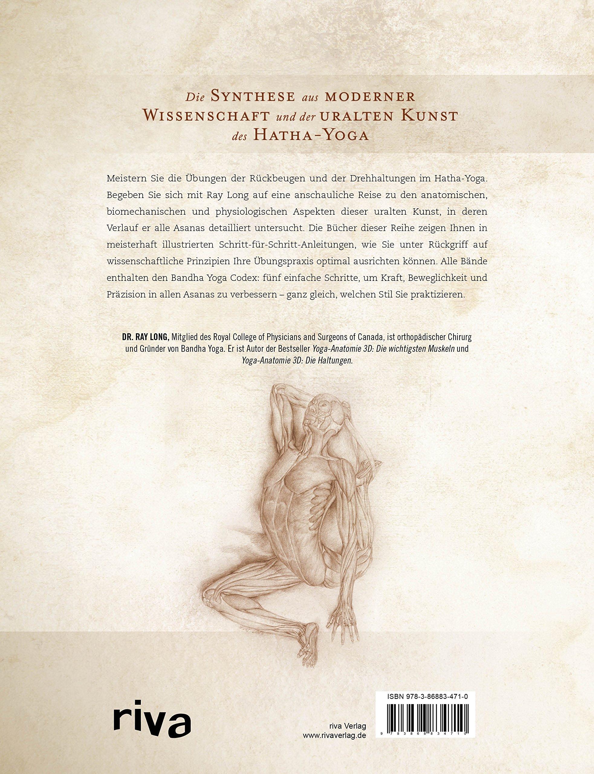 Yoga-Anatomie 3D: Rückbeugen und Drehhaltungen: Amazon.de: Ray Long ...