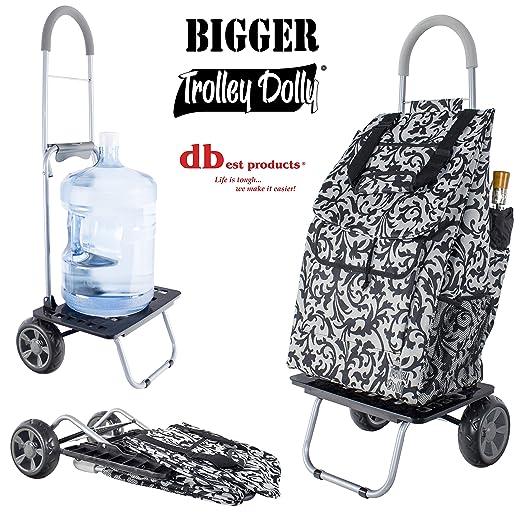 Dbest Produkte Grosser Trolley Dolly Blau Amazon De Kuche Haushalt