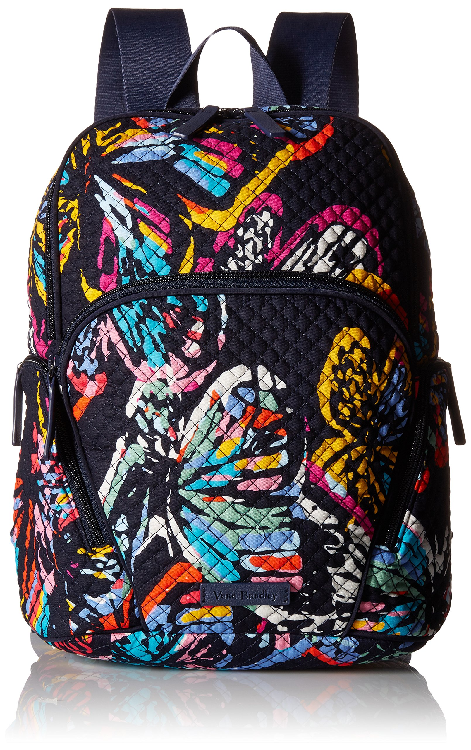 Vera Bradley Hadley Backpack, Signature Cotton, Butterfly Flutter