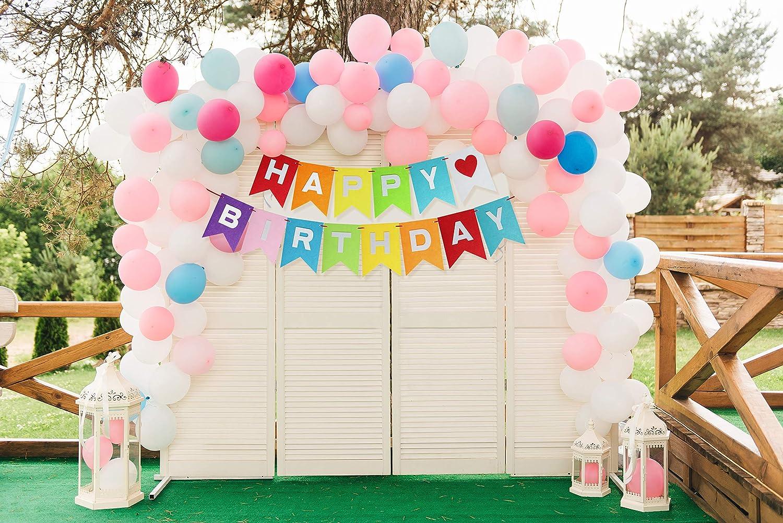 Amazon.com: Banderines de fieltro para fiestas de cumpleaños ...