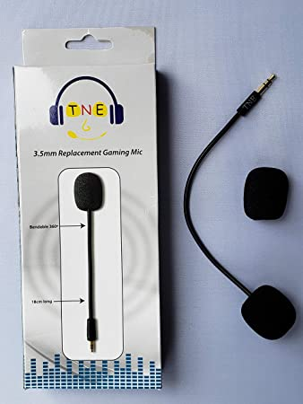 Ersatz-Spielmikrofon für Laptop, Computer, PC, Mac, Xbox One PS4 Nintendo Switch Gaming Headsets