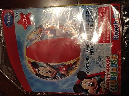 Amazon.com: Disney Mickey Mouse Clubhouse pelota hinchable ...