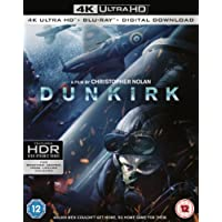 Dunkirk [4K UHD + Digital Download] [Blu-ray] [2017] [Region Free]