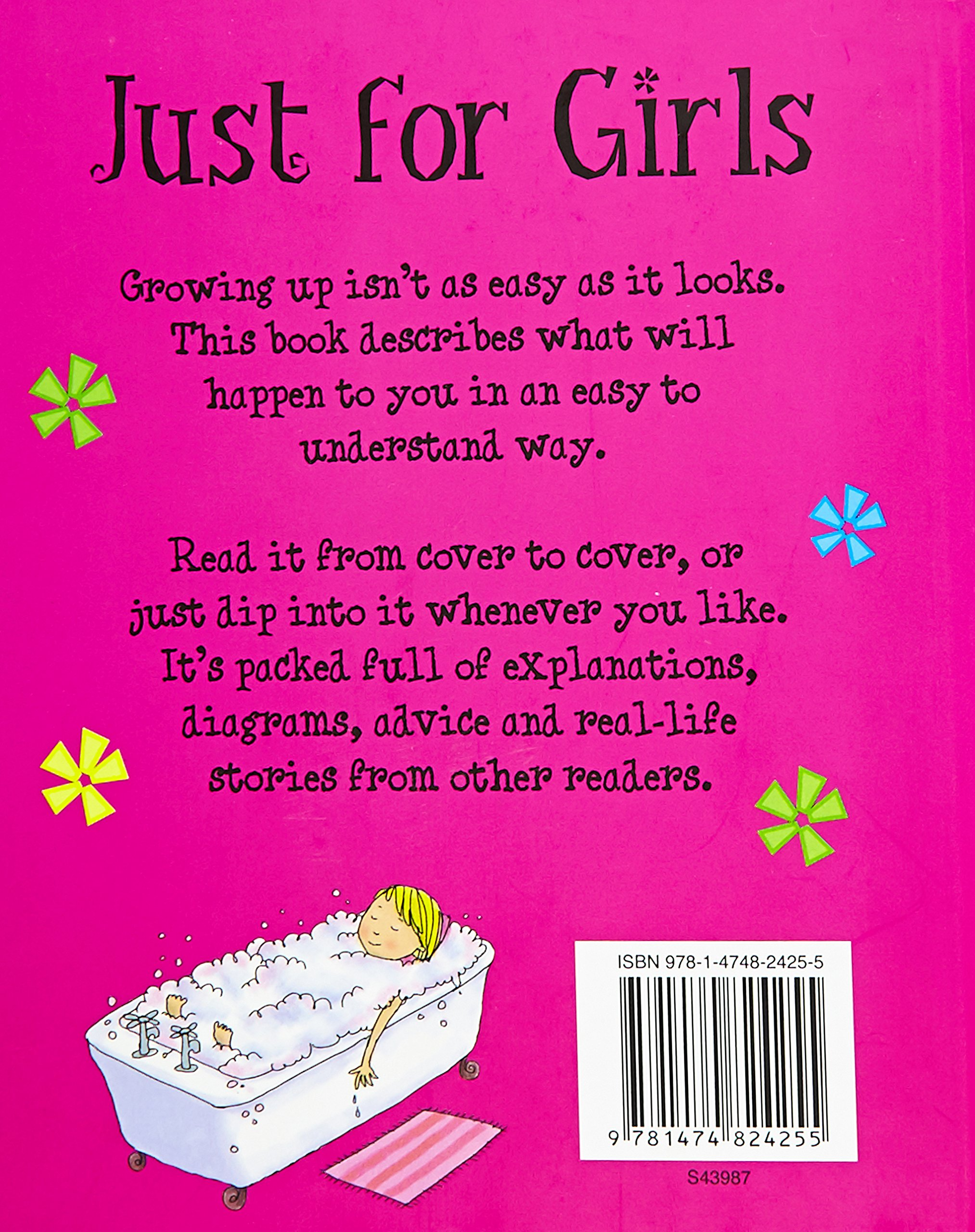 buy just for girls a book about growing up book online at low