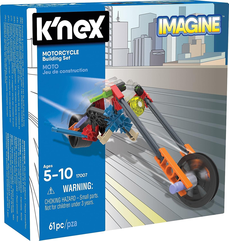 Knex Imagine Juego de construcción de Motocicletas para Edades de ...