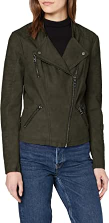 Only Onlava Faux Leather Biker Otw Noos Chaqueta para Mujer