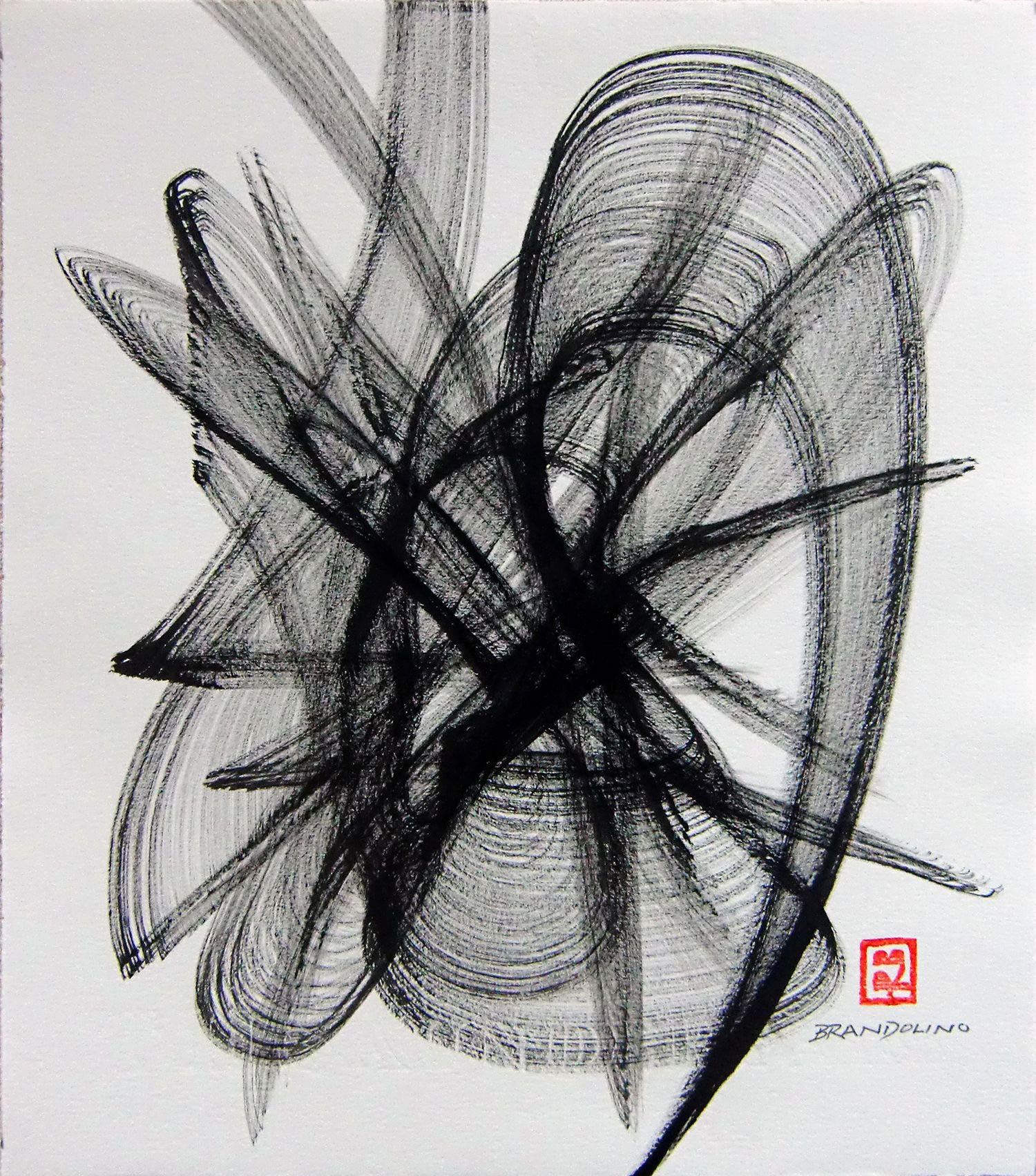Brush Dance Series No. 05 by