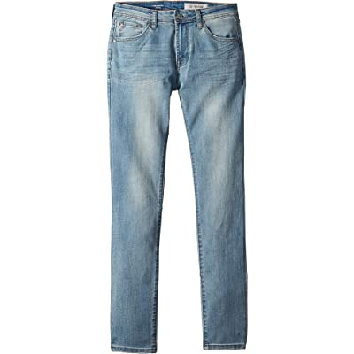 AG Adriano Goldschmied Kids Boy's The Kingston Slim Skinny in Lite Blue (Big Kids) Lite Blue 14