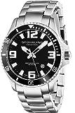 Amazon Price History for:Stuhrling Original Men's 395.33B11 Aquadiver Regatta Analog Swiss Quartz Stainless Steel Link Bracelet Watch