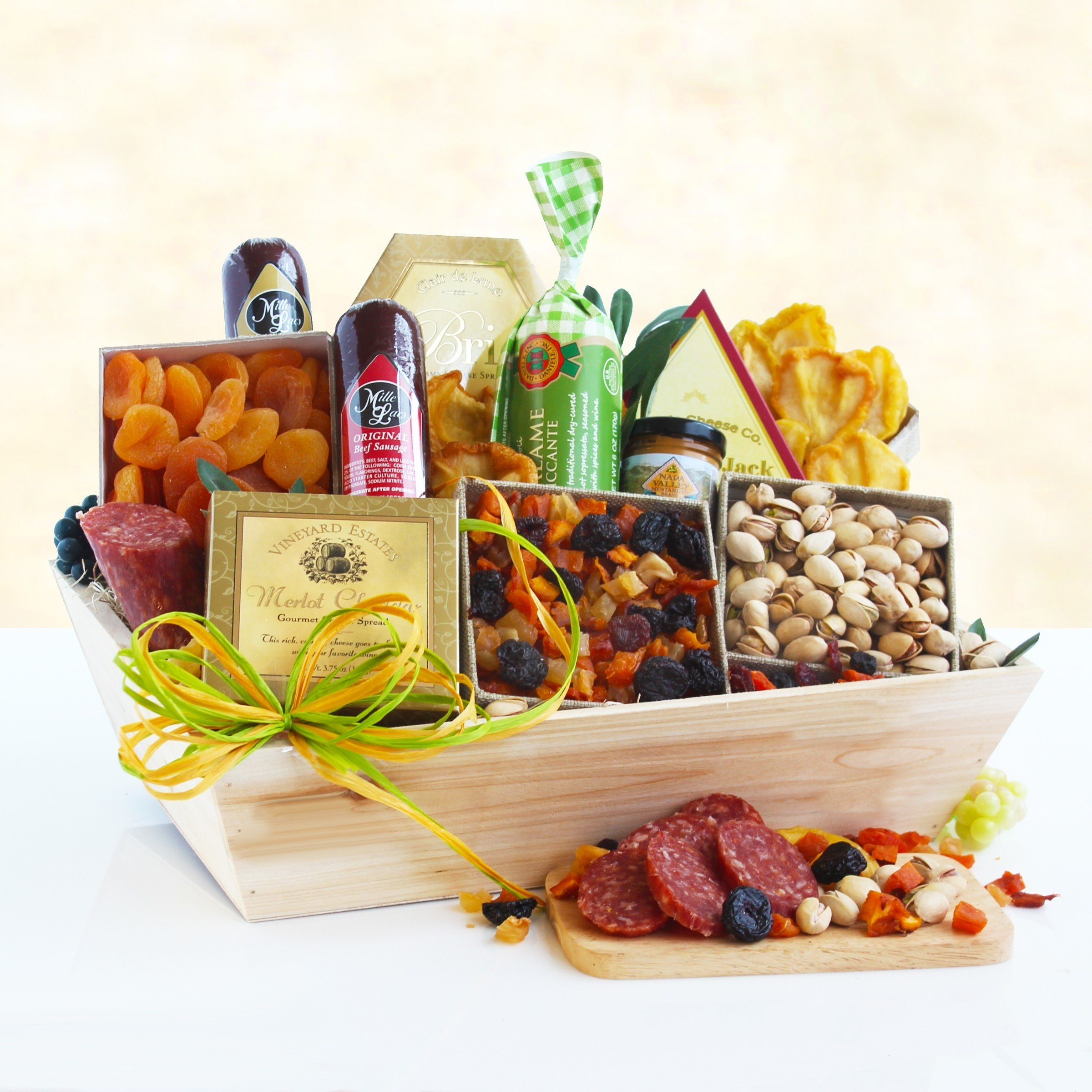 Wine Country Classics Ultimate Meat and Cheese Basket