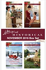 Harlequin Love Inspired Historical November 2016 Box Set: An Anthology Kindle Edition