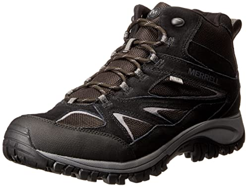 46cf8be357c Merrell Men's Phoenix Bluff Mid Waterproof Hiking Shoe