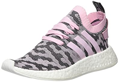 new product 8b664 23ab2 Image Unavailable. Image not available for. Color  adidas Womens NMD R2  Primeknit Wonder Pink ...