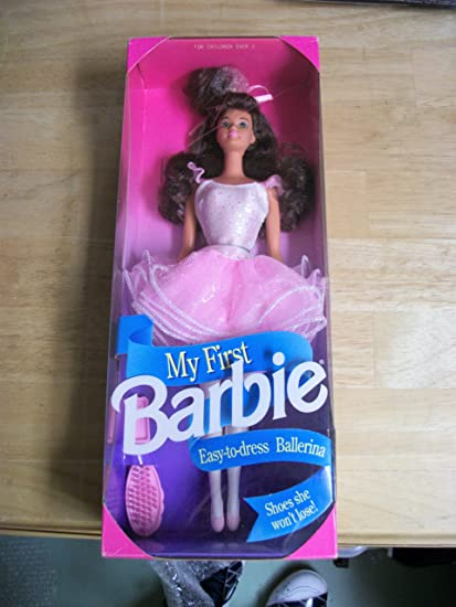 Amazon Com My First Barbie Ballerina Doll 1992 Toys Games