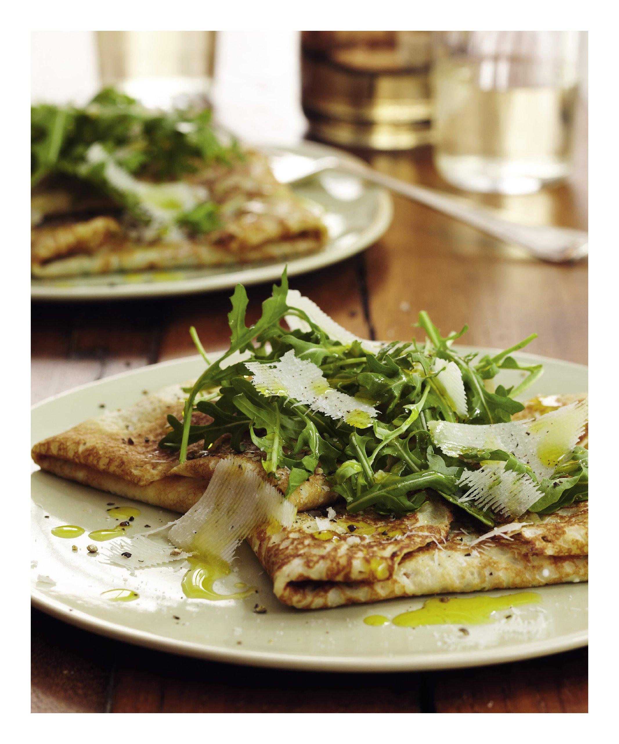 Crepes: 50 Savory and Sweet Recipes: Martha Holmberg, James Baigrie ...