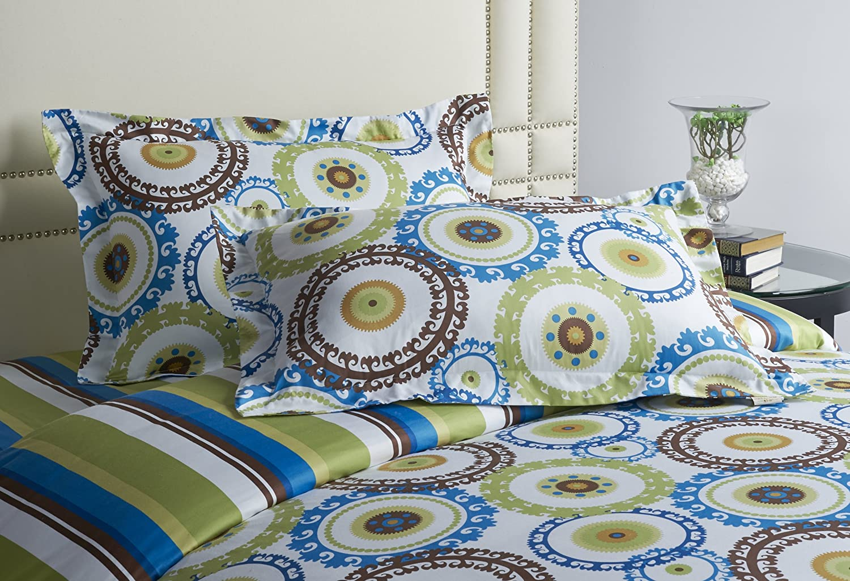 Jennifer Taylor Home, 3-Piece Duvet Set, King, Multicolored